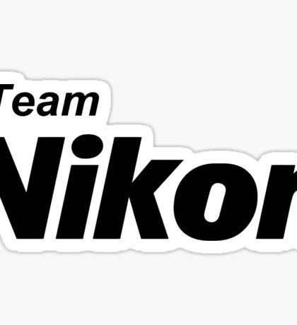 Team Nikon! Sticker