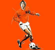 Johan Cruyff Sketch. Unisex T-Shirt