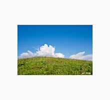 Alpine Meadow and Cloud Formation Unisex T-Shirt