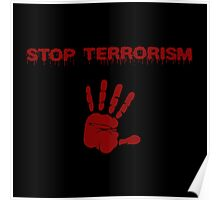 Stop the terror Poster