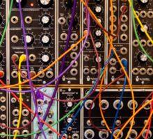Moog Modular Synthesizer Control Panel Sticker