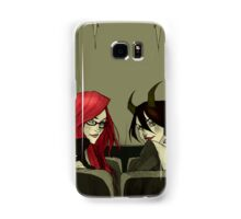 The Girls in the Back Row (Unlettered Logo) Samsung Galaxy Case/Skin