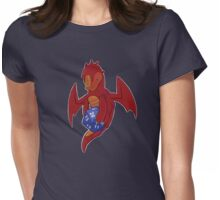 D20 Red Dragon Womens Fitted T-Shirt
