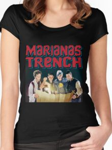 Astoria - Marianas Trench Women's Fitted Scoop T-Shirt