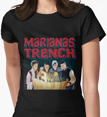 Astoria - Marianas Trench Womens Fitted T-Shirt