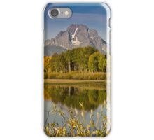 The Tetons and Fall Colors iPhone Case/Skin