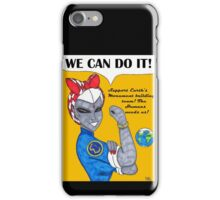 Team 7 We Can Do it! iPhone Case/Skin