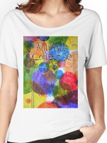 Animal Collective Dots Women's Relaxed Fit T-Shirt