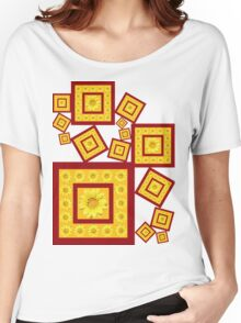 Yellow Daisy with Yellow Center Women's Relaxed Fit T-Shirt