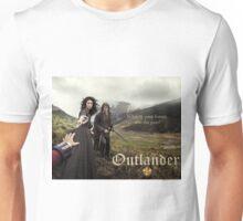 Outlander poster/Jamie & Claire Unisex T-Shirt