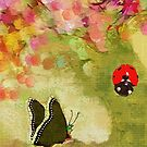 Lady and the Butterfly by Betsy  Seeton