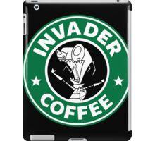 Invader Coffee iPad Case/Skin