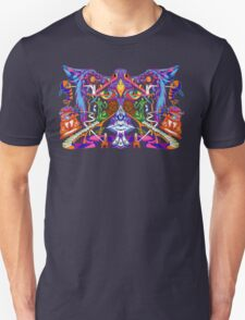 Time Drag, Mind Fly Unisex T-Shirt