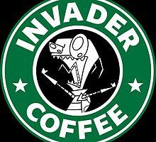 Invader Coffee by Adam Grey