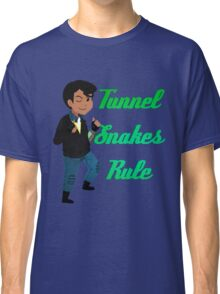 TUNNEL SNAKES RULE! Classic T-Shirt