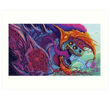Hyper Beast Art Print