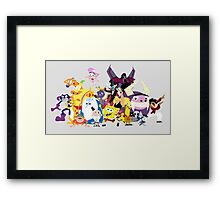 Voices of Tom Kenny Framed Print