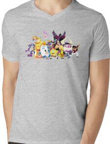 Voices of Tom Kenny Mens V-Neck T-Shirt