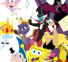 Voices of Tom Kenny Sticker