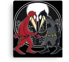Batfleck Vs Darefleck Canvas Print
