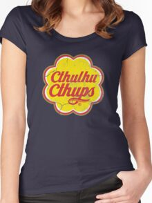 Cthulhu Cthups Women's Fitted Scoop T-Shirt