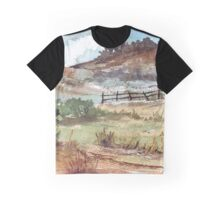 A farm fence Graphic T-Shirt