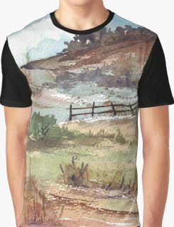 A farm fence Graphic T-Shirt