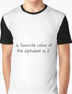 Alphabet Quote Graphic T-Shirt