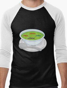 Turtels Soup Men's Baseball ¾ T-Shirt