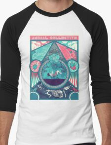 Animal Collective Circus Style Men's Baseball ¾ T-Shirt