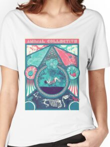 Animal Collective Circus Style Women's Relaxed Fit T-Shirt