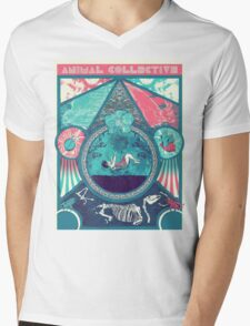 Animal Collective Circus Style Mens V-Neck T-Shirt