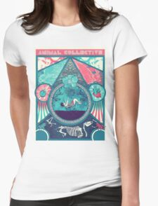 Animal Collective Circus Style Womens Fitted T-Shirt