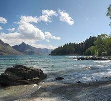 Wakatipu Waves by Larry Lingard-Davis