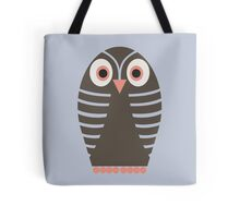 STRIPED OWL Tote Bag