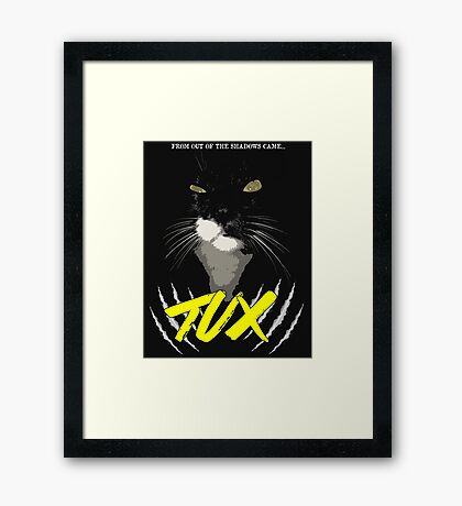 Tux - The Movie Framed Print
