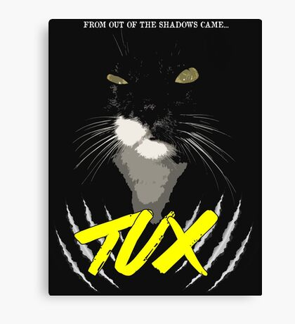 Tux - The Movie Canvas Print