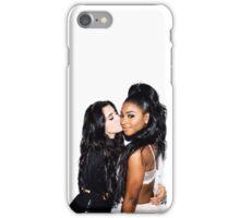 Lauren Jauregui & Normani Kordei (white background)  iPhone Case/Skin