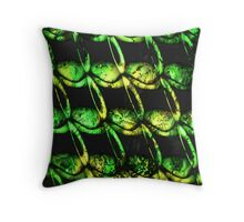 army of misfits in green Throw Pillow