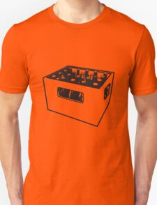 Beer drinking booze box Unisex T-Shirt