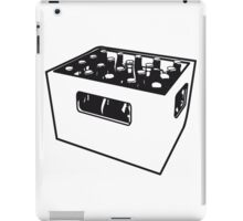 Beer drinking booze box iPad Case/Skin