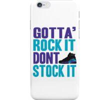 Gotta Rock It - Aqua 8 iPhone Case/Skin