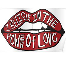 I BELIEVE IN THE POWER OF LOVE Poster