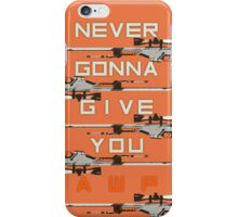 Never Gonna Give You AWP iPhone Case/Skin