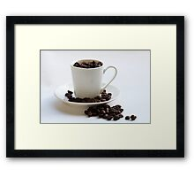 Delicious coffee Framed Print
