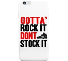 Gotta Rock It - Black Metallica 5 iPhone Case/Skin