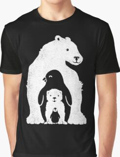 Arctic Friends Graphic T-Shirt