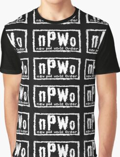 New Pod World Order Graphic T-Shirt