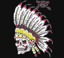 Indian Chief Skull Unisex T-Shirt