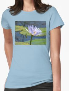 Waterlily with Bee  T-Shirt